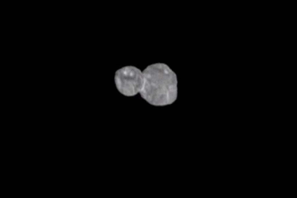 Зонд снял на фото приближение к карликовой планете. ФОТО: стоп-кадр с видео