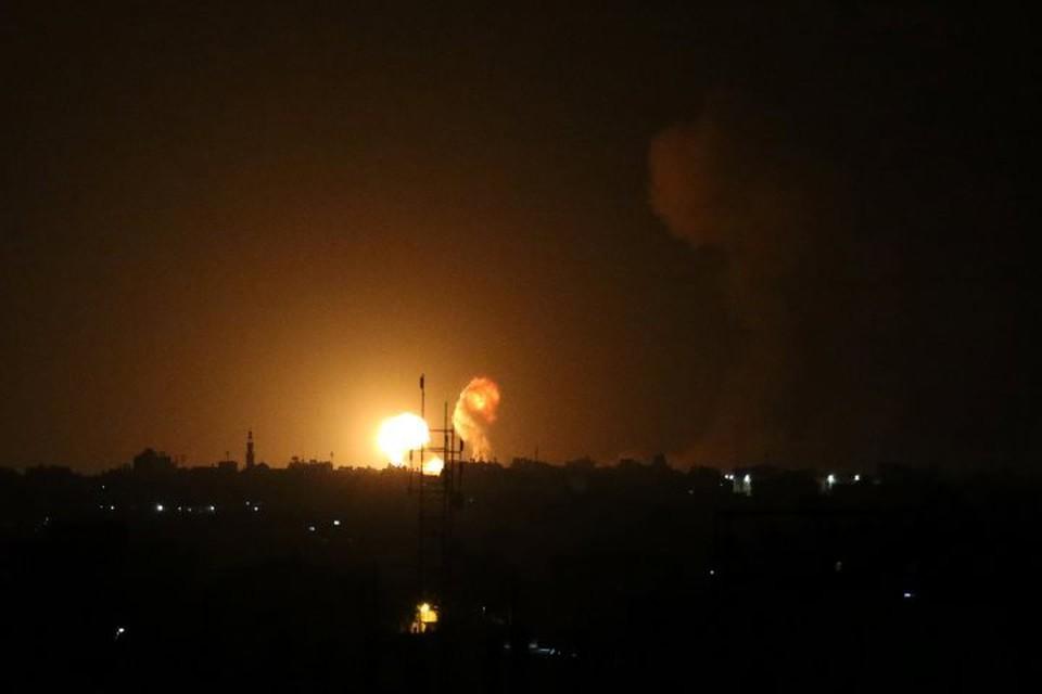 В секторе Газа обстреляли наблюдательную вышку