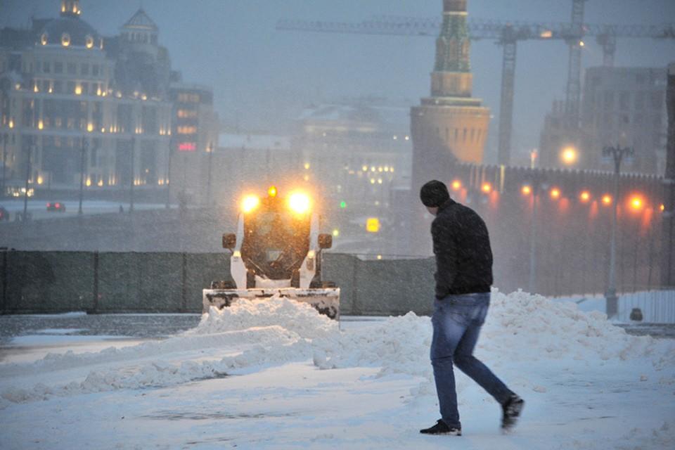 Сугробы в столице впервые за зиму могут вырасти до 50 сантиметров.