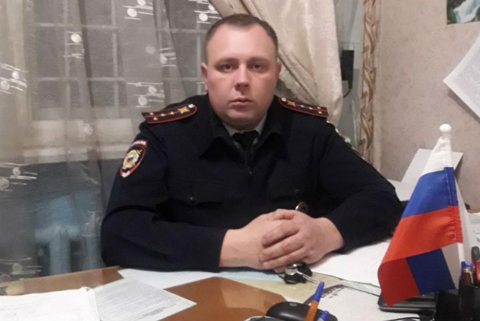 Капитан полиции Александр Гуриков 4 часа добирался до пенсионеров, чтобы доставить продукты. Фото: личный архив Александра Гурикова