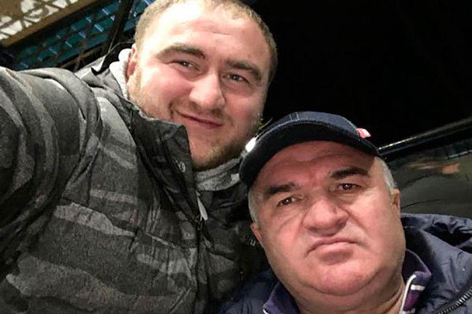 Рауф и Рауль Арашуковы. Фото: личная страница сенатора в соцсетях
