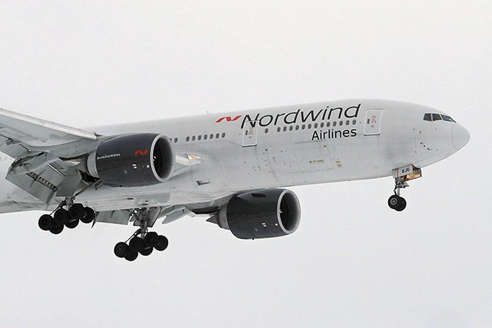 Boeing 777 авиакомпании Nordwind, который, по некоторым данным, прилетел в Венесуэлу 28 января без пассажиров. А через 11 часов вернулся во Внуково