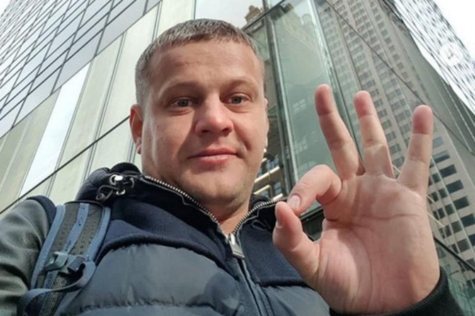 Потерявший семью в «Зимней вишне» Востриков объяснил, зачем уехал в Америку. Фото: Instagram Игоря Вострикова.