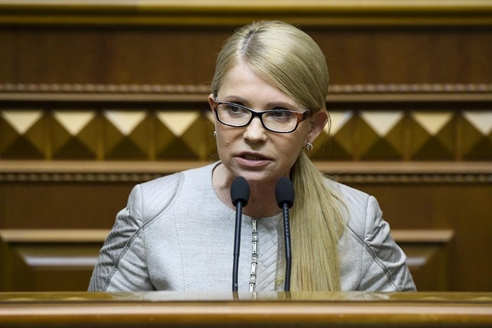 Тимошенко занимается сексом