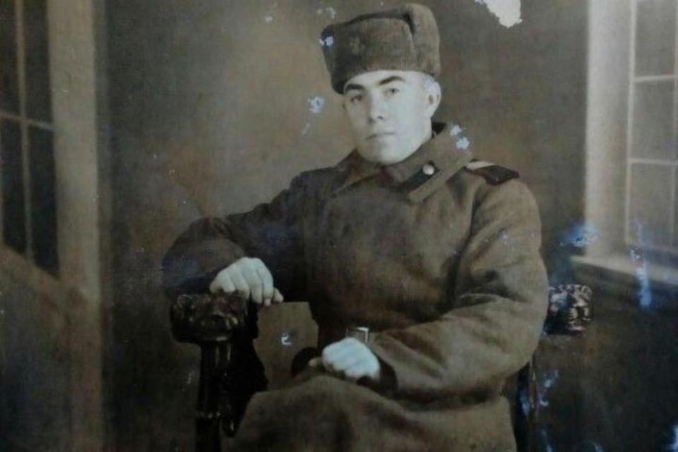 Герой-минометчик Иван Кузнецов.