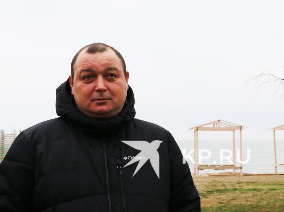 Владимир Горбенко вернулся в Крым по российскому паспорту