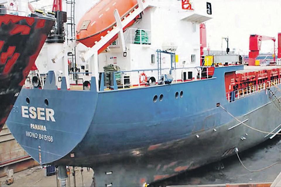 История у 100-метрового судна такая же мутная, что и у его груза: за последние 20 лет ESER шесть раз менял названия и владельцев. Фото: youtube.com