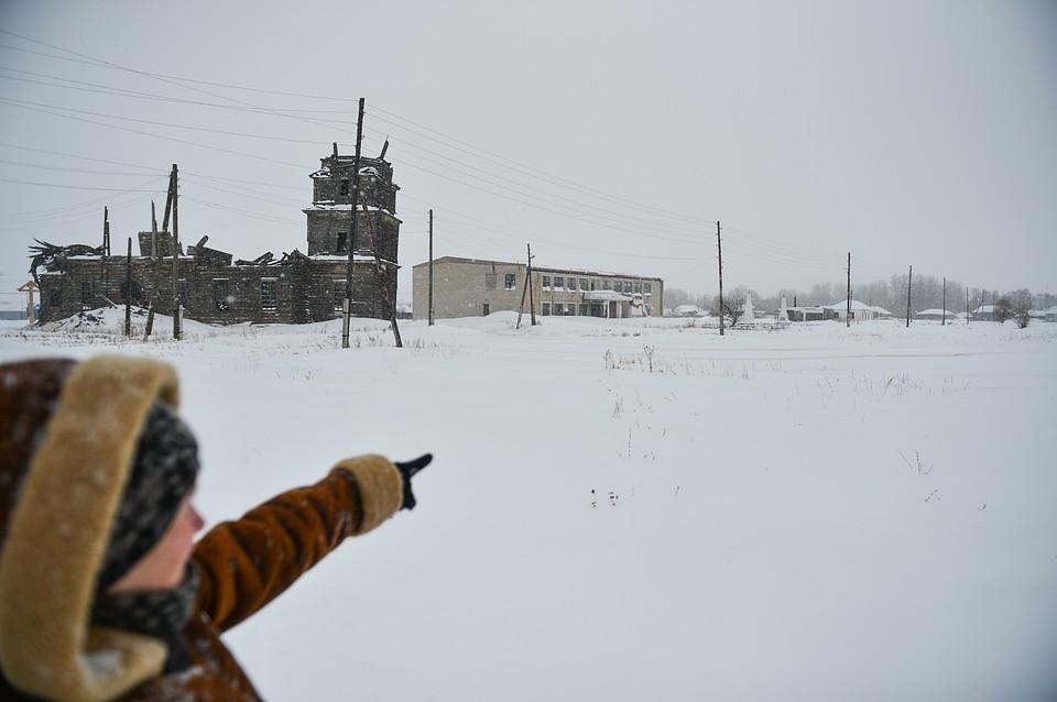 0955dd57b В селе Самарской области частник выкупил здание школы, почту и медпункт