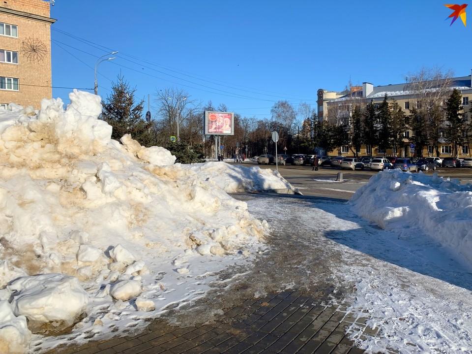 Главы районов Орла отчитались об уборке снега и наледи