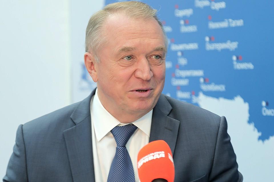 Президент Торгово-промышленной палаты РФ Сергей Катырин.