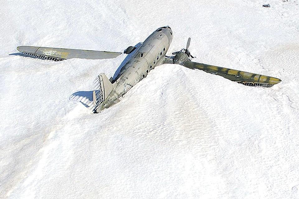 23 апреля 1947 года самолет вылетел по маршруту бухта Кожевникова - Дудинка - Красноярск. Фото: регионального отделения Русского географического общества