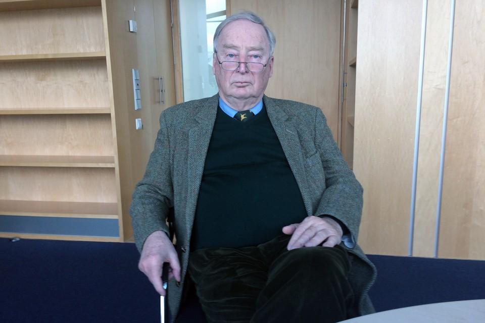 Старший сопредседатель партии «Альтернатива для Германии» (АдГ), депутат Бундестага Александр Гауланд
