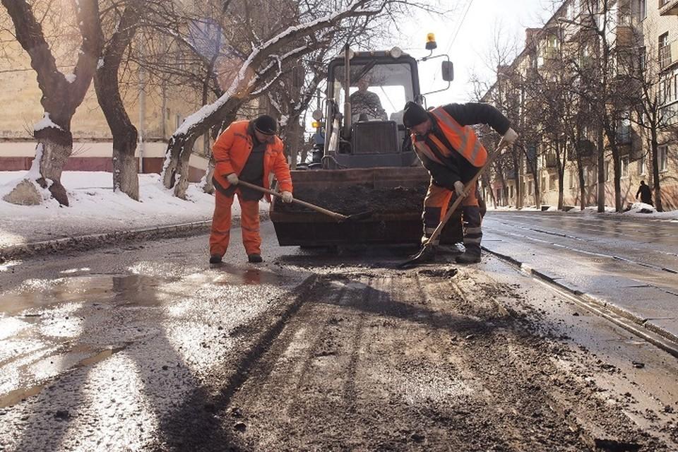 Уже через месяц на дорогах Башкирии начнется ямочный ремонт
