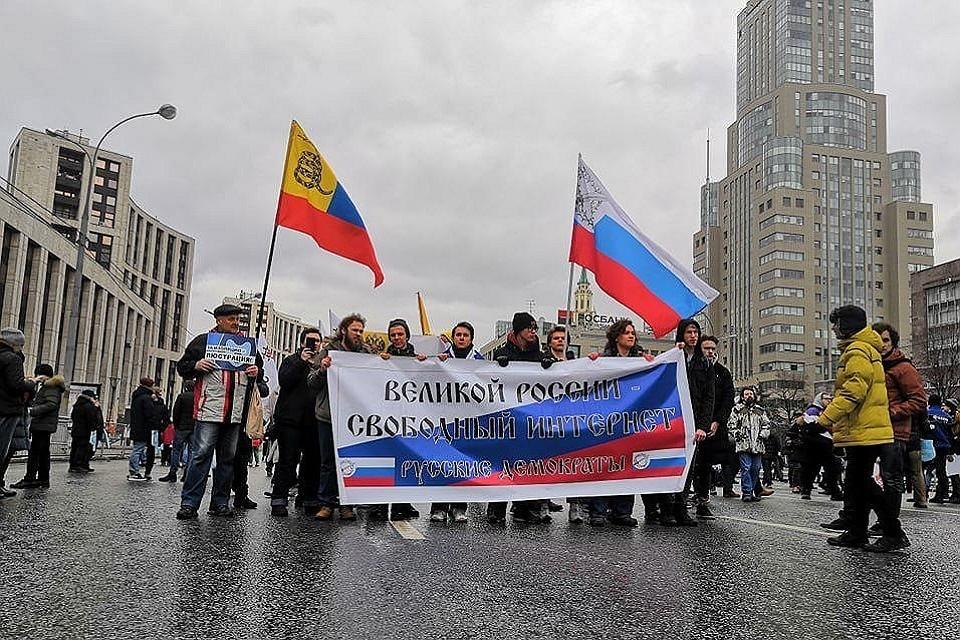 В Москве съемочную группу RT не пустили на митинг