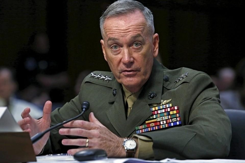 Глава объединенного комитета начальников штабов вооруженных сил США Джозеф Данфорд.