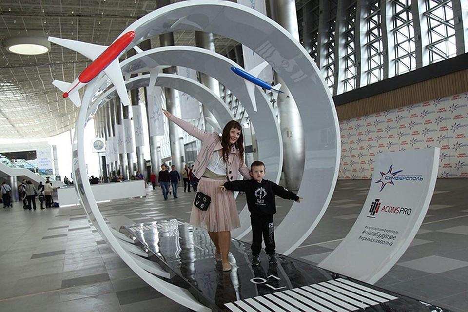По дизайну и функционалу Симферополь даст фору многим курортным аэропортам Европы