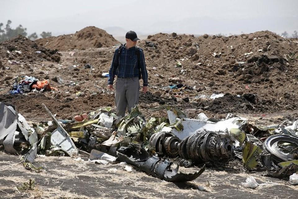 Авиакатастрофа произошла утром в воскресенье, 10 марта