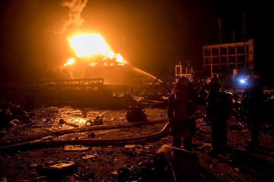 В Китае прогремел взрыв на заводе компании Tianjiayi Chemical