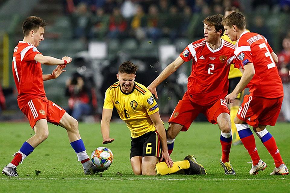 Бельгия, не проигрывавшая дома с 1 сентября 2016 года продлила свою серию