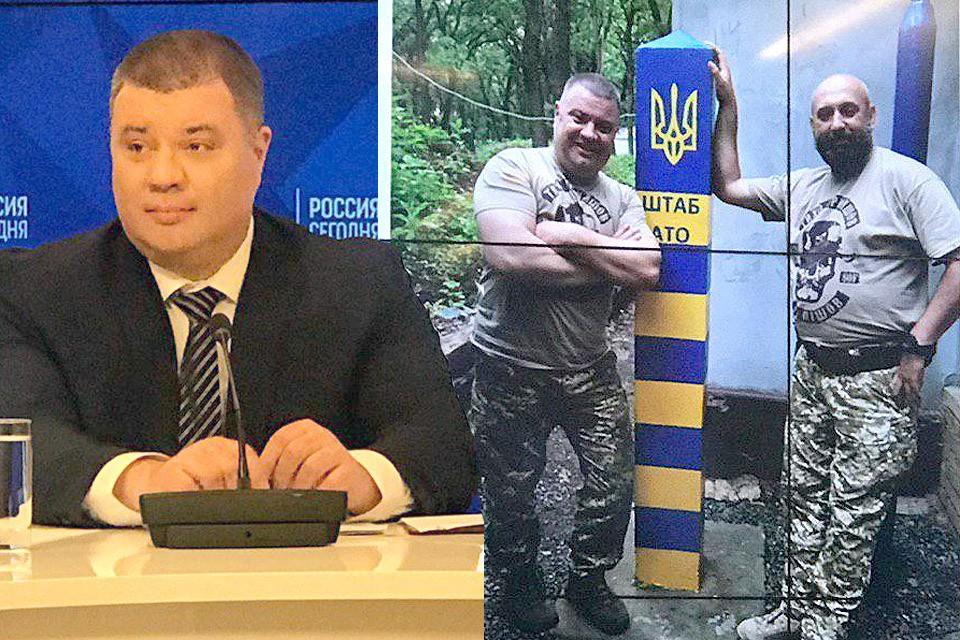 Экс-сотрудник СБУ Василий Прозоров на пресс-конференции в Москве, 25 марта 2019 г.