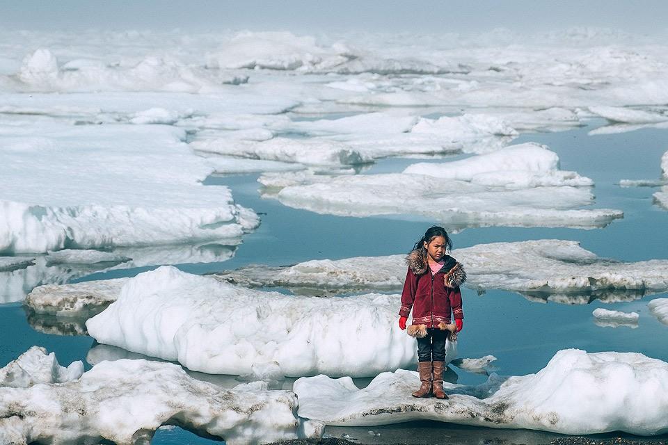 Последствия глобального потепления на Аляске.