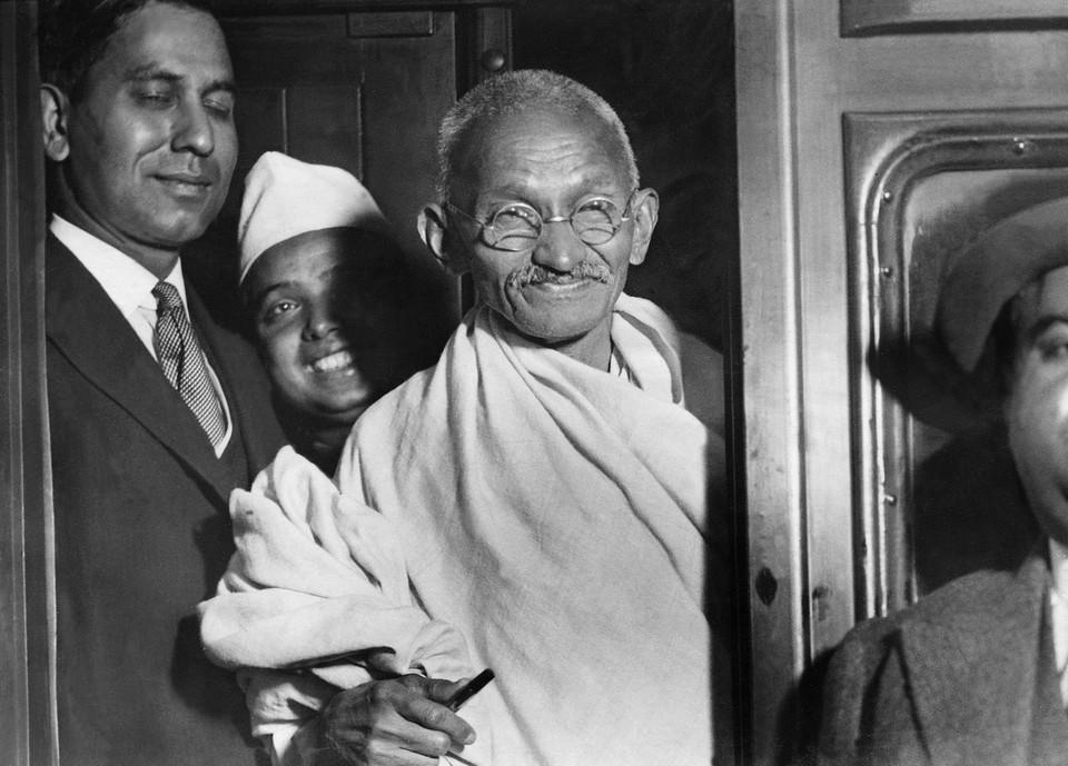 Махатма Ганди, 1932 год.