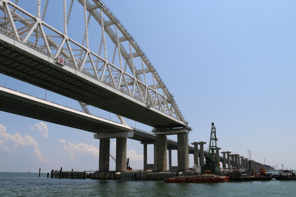 Крымский мост - в полной безопасности!