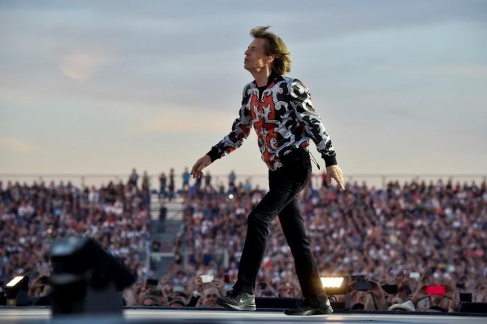 Вокалист The Rolling Stones Мик Джаггер