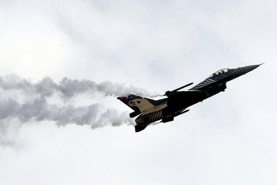 Бомбардировщик МиГ-27 потерпел крушение в Индии