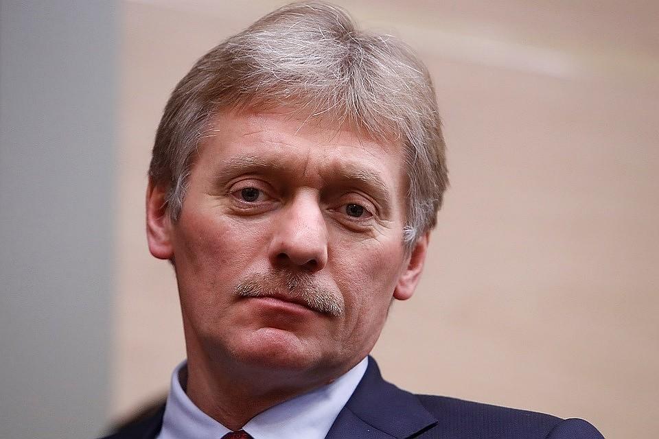 Пресс-секретарь российского лидера Дмитрий Песков