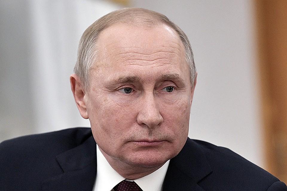 Президент России Владимир Путин / Алексей Никольский ТАСС