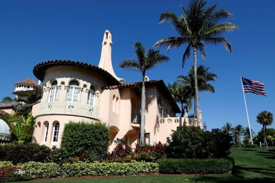 Резиденция Дональда Трампа «Мар-а-Лаго» во Флориде