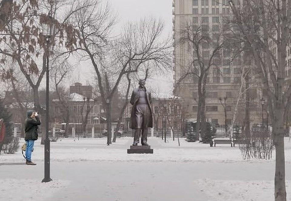 Четырехметровый бронзовый памятник уже готов