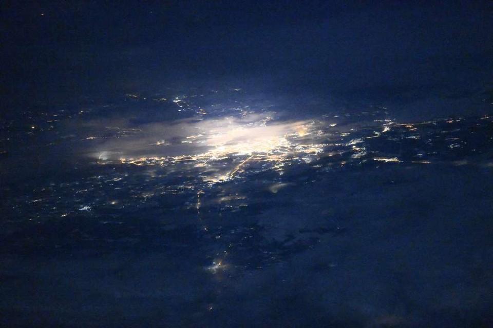 Фото Санкт-Петербурга из космоса сделал Герой России Олег Кононенко. ФОТО: сайт Роскосмос