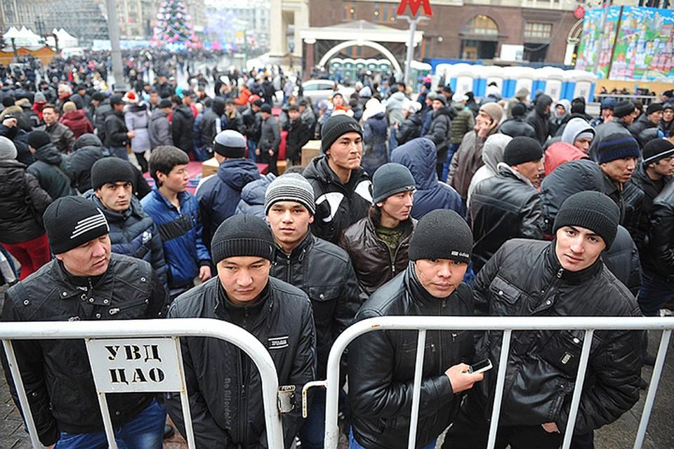 По данным Росстата, в 2017 году в Россию прибыло не 18 млн, а всего 589 тыс. новых работников