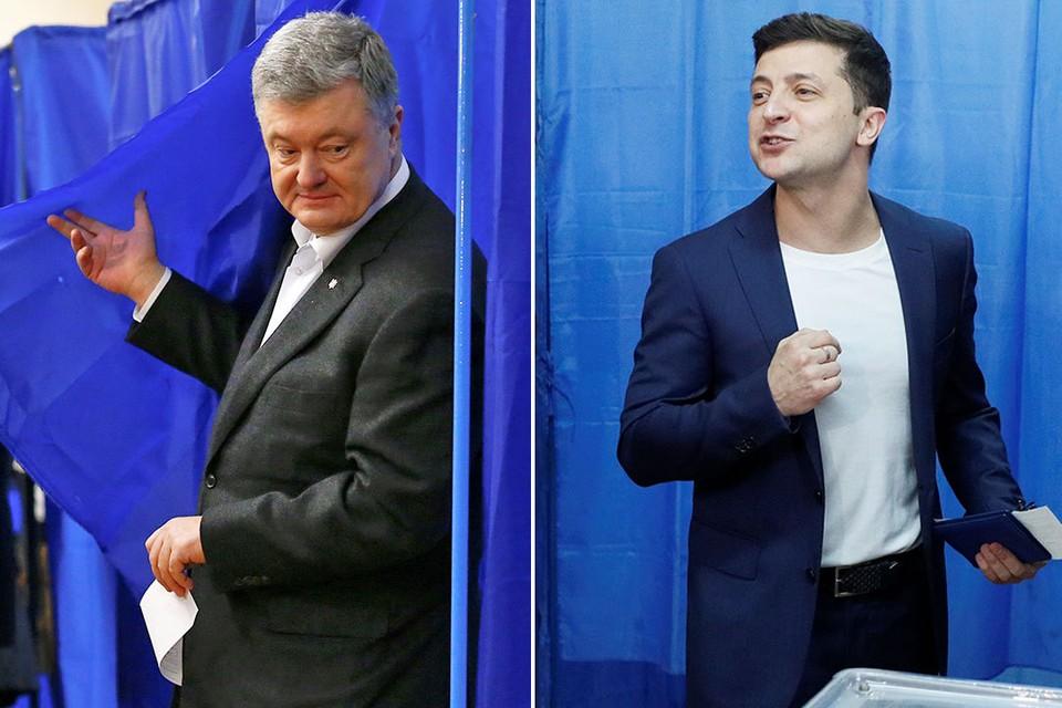 Во время президентских выборов на Украине случился скандал