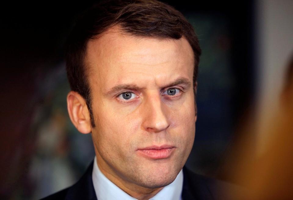 Президент Франции Эманюэль Макрон