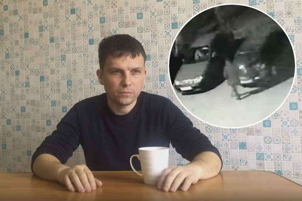 Григорий Керусенко считает, что его подставили. А второй участник аварии продолжает доказывать, что начальник ГИБДД виновен. Фото: кадры с видео.
