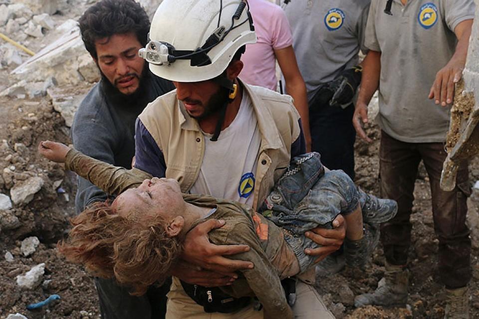 СМИ сняли постановку гибели семьи в Сирии
