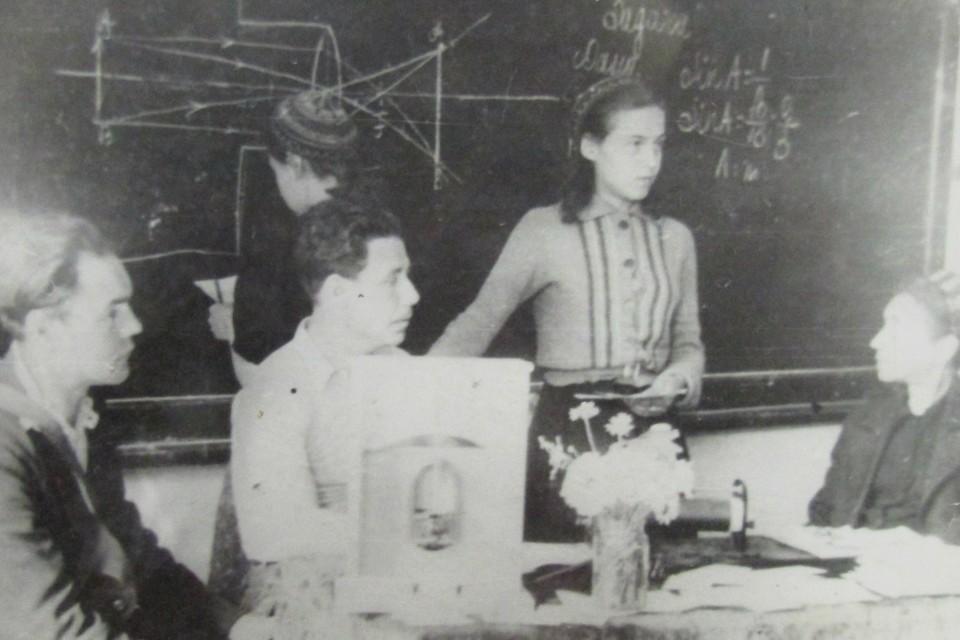 Экзамен по физике, 1942 год. Фото: Из архива школы №367