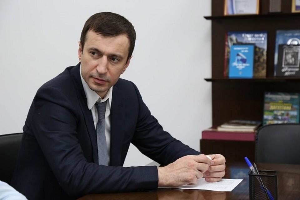 Осман Хазбулатов. Фото: министерство экономики и территориального развития Республики Дагестан