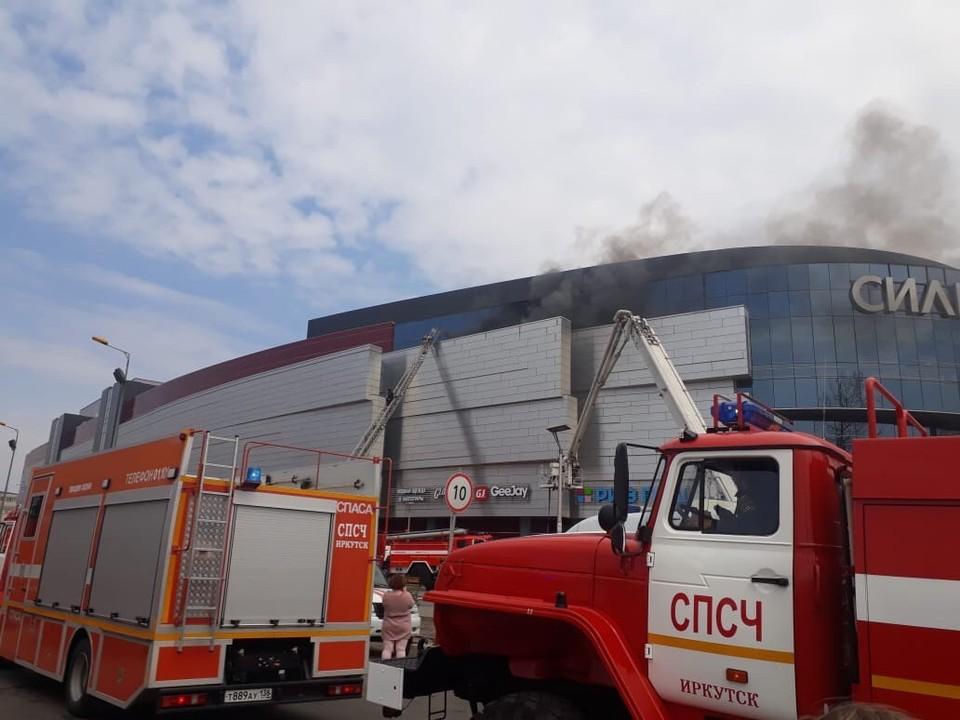 ТРЦ «Сильвер Молл» в Иркутске, в котором произошел пожар, уже закрывали из-за нарушений безопасности/