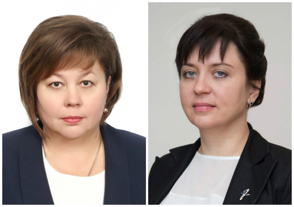 Первая замглава Новороссийска Светлана Калинина (слева) и зам по соцвопросам Наталья Майорова могут сесть на 5 лет в тюрьму\ФОТО: администрация Новороссийска