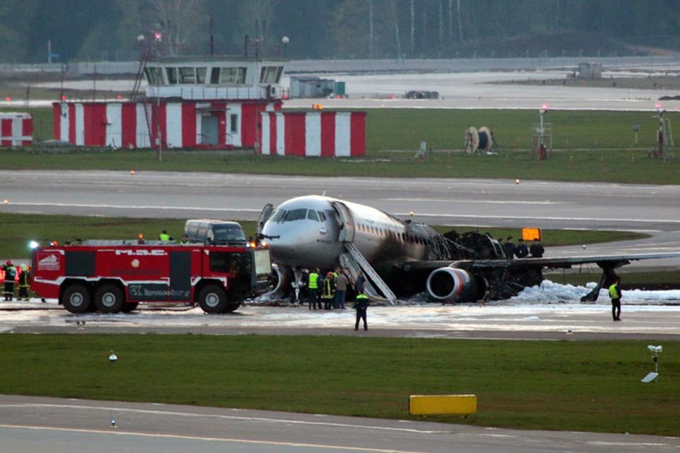 Борт «Москва-Мурманск» совершил аварийную посадку в аэропорту «Шереметьево» вечером, 5 мая. Пожар унес жизни 41 человека, в том числе двоих детей