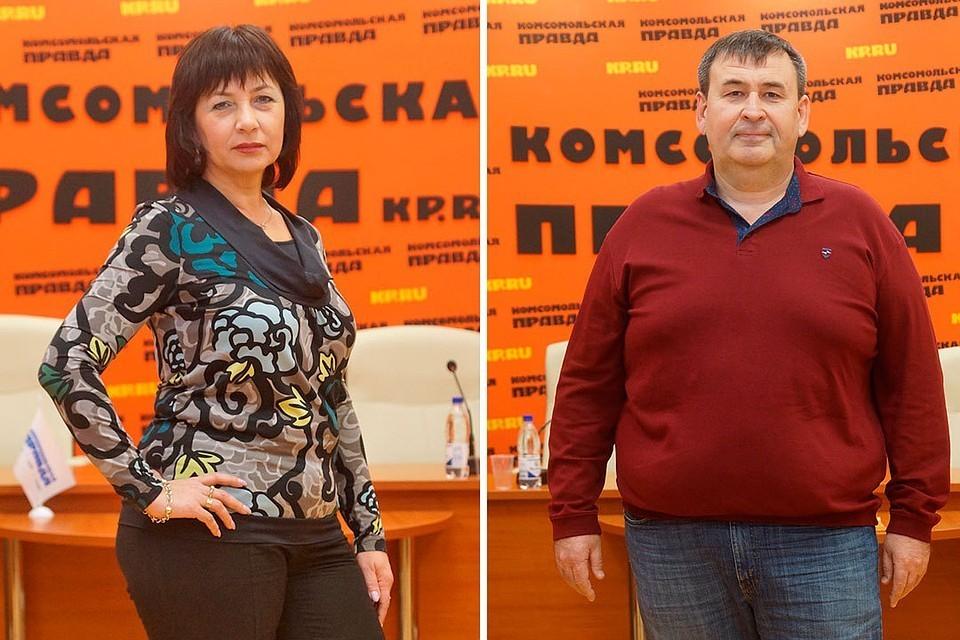 Виктория и Владимир пришли худеть в центр «Открытие»