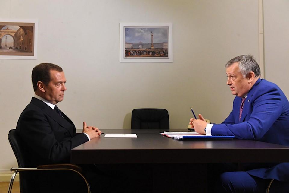 Губернатор Александр Дрозденко: «Экономический рост позволяет Ленинградской области выполнить задачи, поставленные нацпроектами»