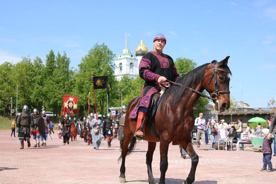 В Пскове пройдет исторический праздник «Довмонт Псковский»