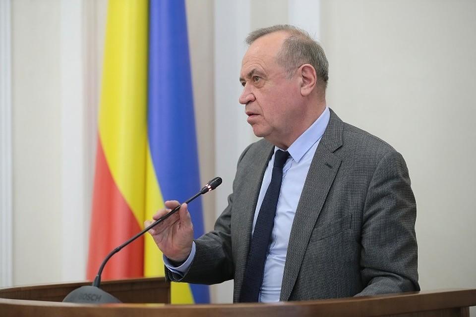 Сергей Сидаш. Фото: правительство РО