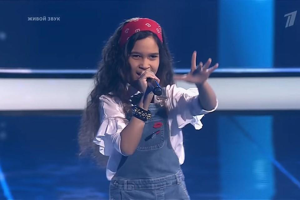Минчанка Мариам Абделькадер победила в «Голос. Дети-6», как и все 9 финалистов. Фото: кадр из видео