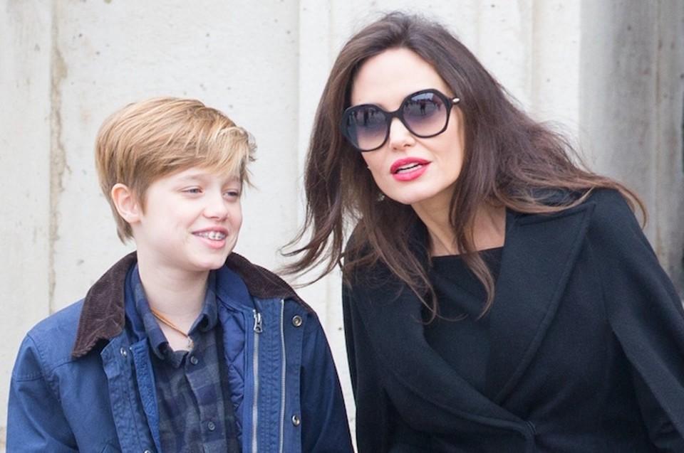 Дочери Анджелины Джоли Шайло исполнилось 13 лет.